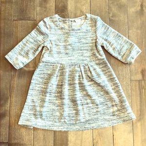 GAP Dresses - Marled Gray Gap Skater Dress